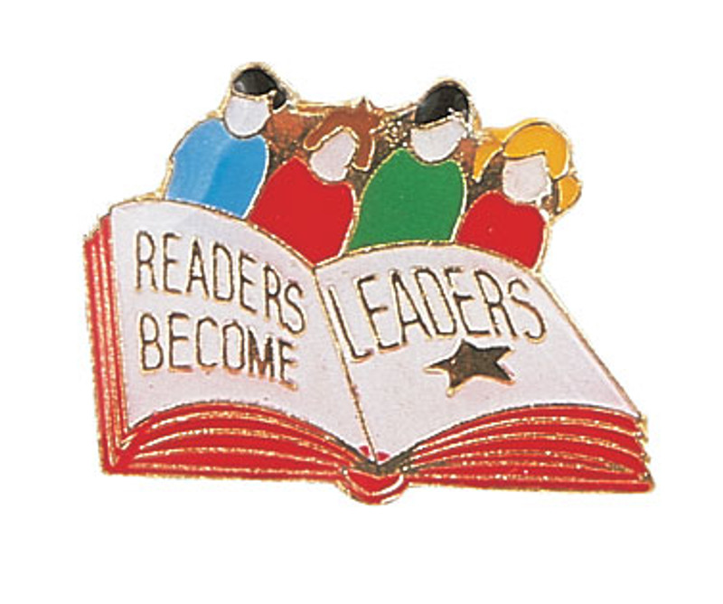 Readers Become Leaders Lapel Pin