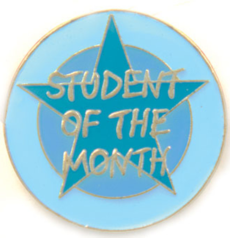 Student of the Month Lapel Pin