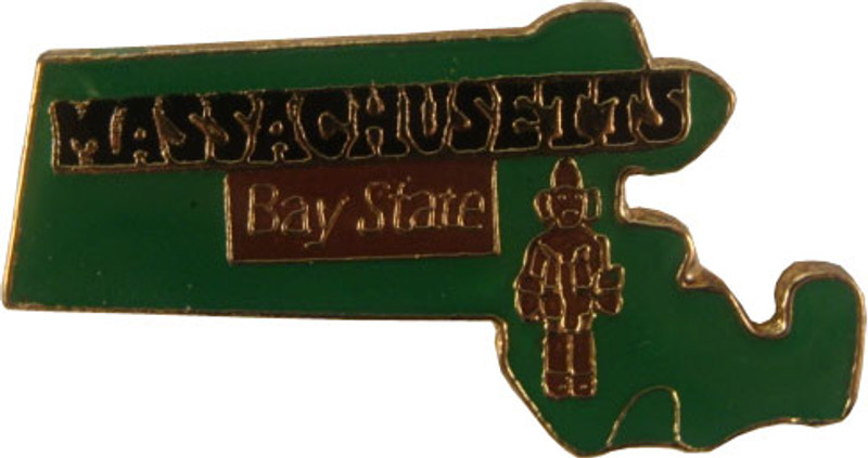 Massachusetts State Lapel Pin