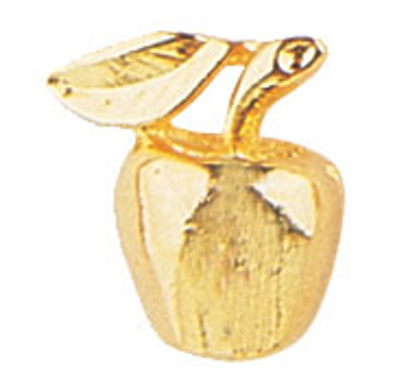 Golden Apple Lapel Pin