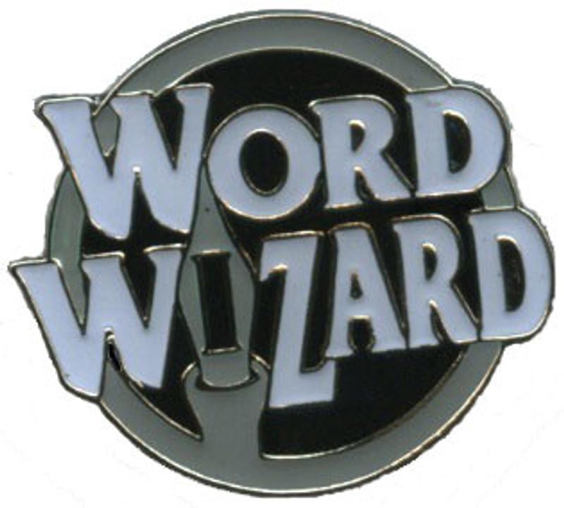 Word Wizard Lapel Pin