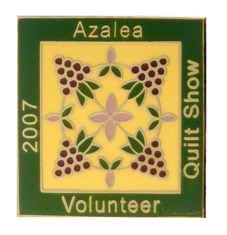Azalea Quilt Show 2007 Volunteer