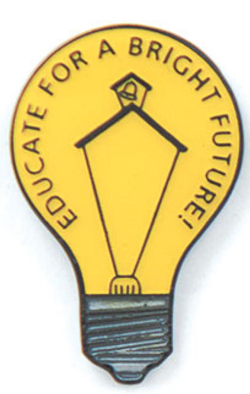 Educate For A Bright future Lapel Pin
