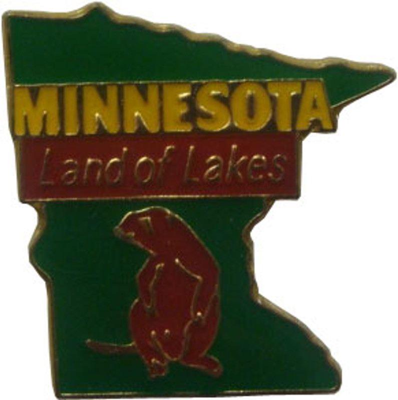 Minnesota State Lapel Pin