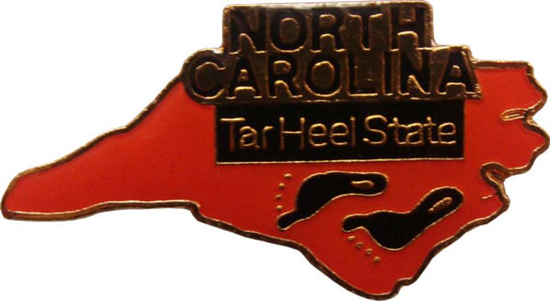 North Carolina State Lapel Pin