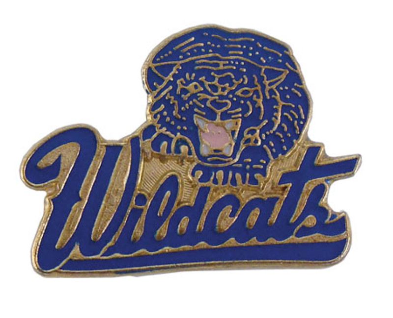 Wildcats (Blue) Lapel Pin