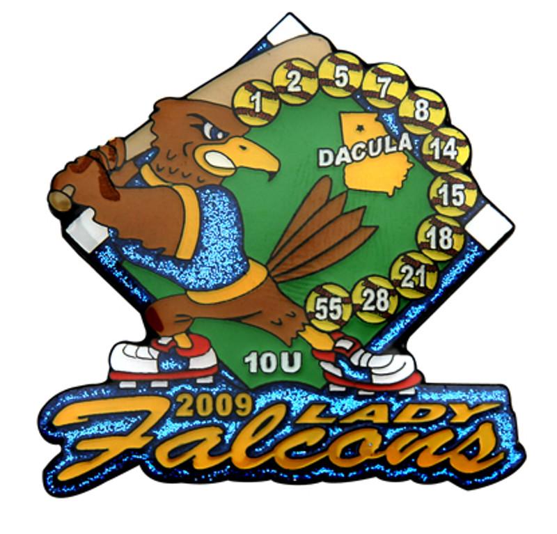 Dacula Lady Falcons 10U Softball 2009