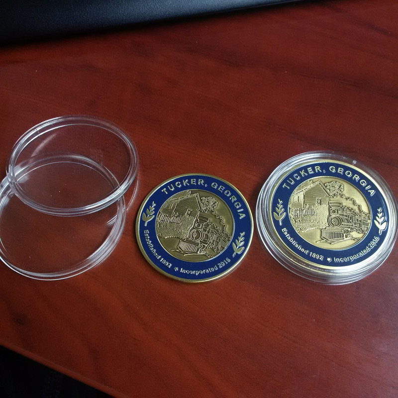 Tucker Commemorative Coin Prototype