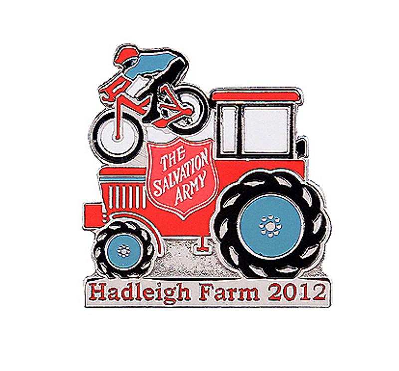 The Salvation Army Hadleigh Farm 2012 Olympic Pin