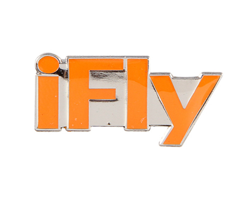 iFly (ORANGE) Lapel Pin