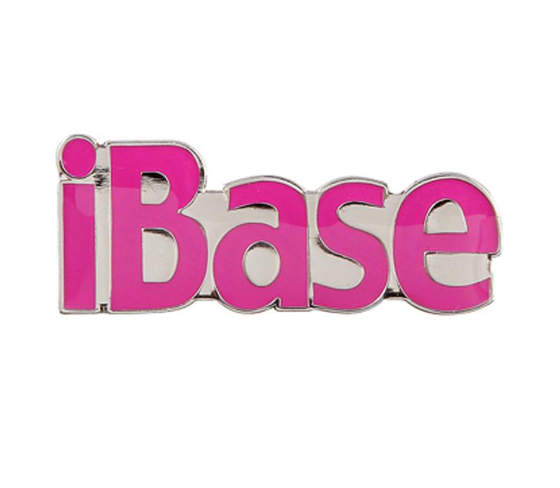 iBase (PINK) Lapel Pin