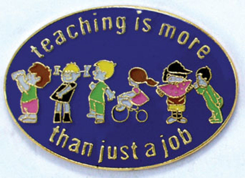Teaching is More Than Just a Job Lapel Pin