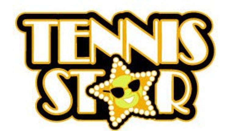 Tennis Star in GOLD Lapel Pin