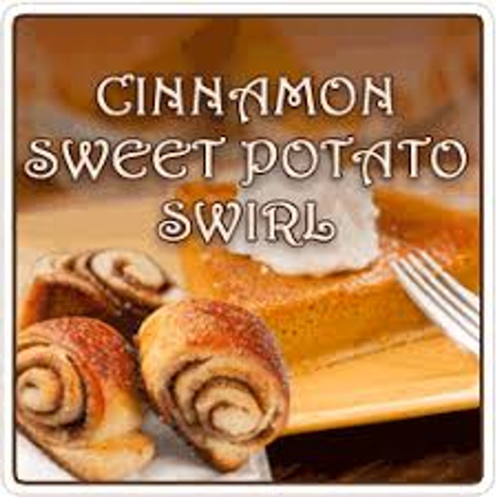 Cinnamon Sweet Potato Swirl