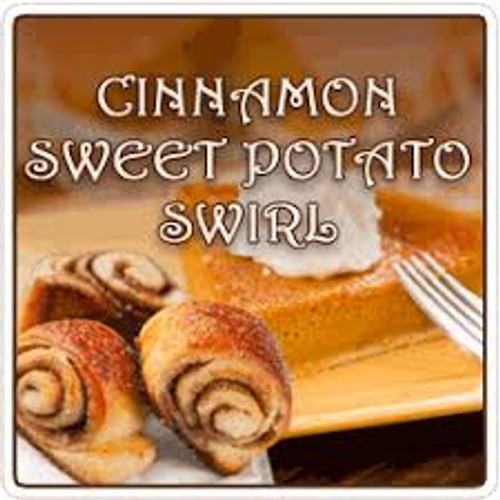 Cinnamon Sweet Potato Swirl