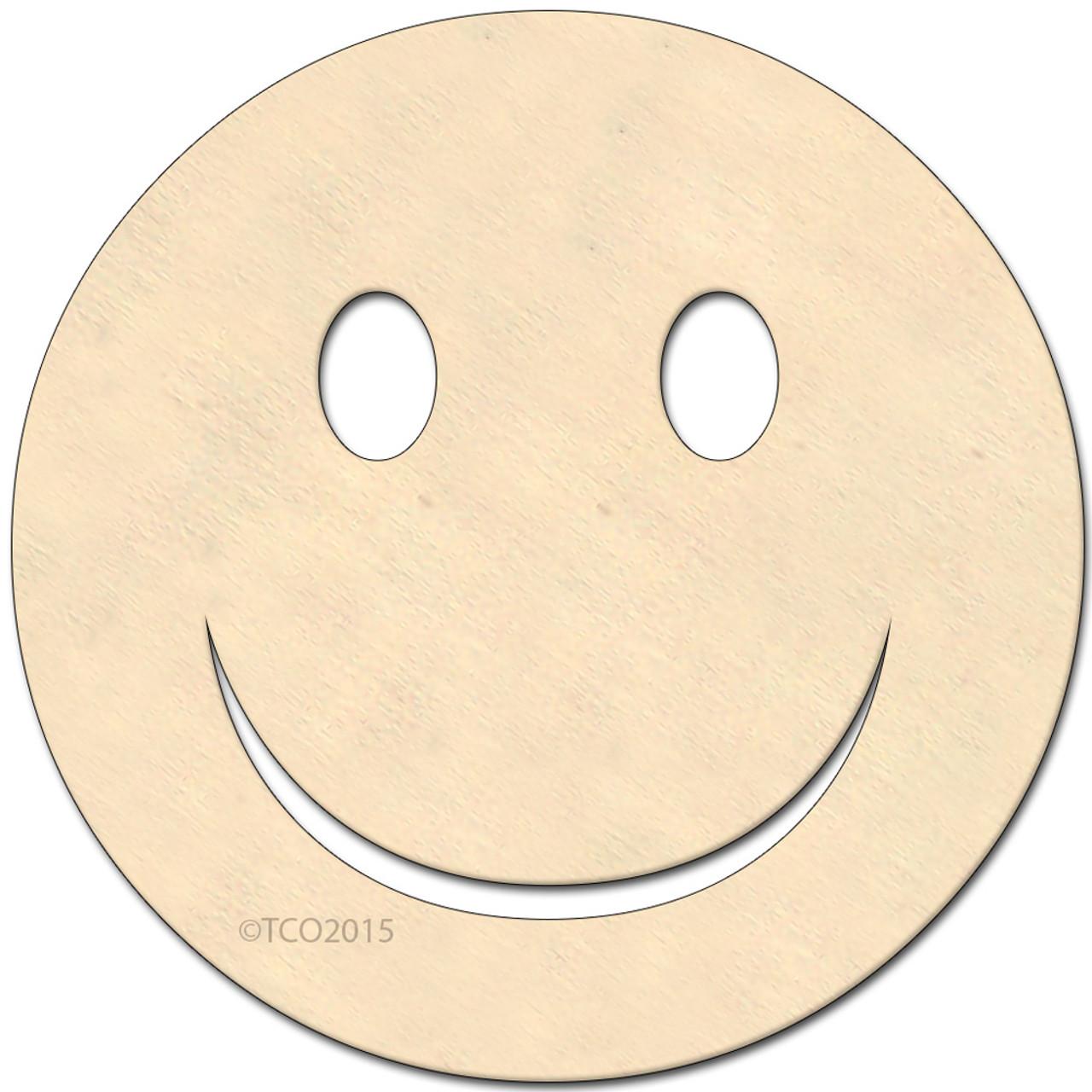 Wooden shape 4 in happy face emoji emoji shape happy face symbol wooden shape 4 in happy face emoji emoji shape happy face biocorpaavc Gallery