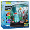 Tetra Bubbling LED 3 Gallon Half Moon Aquarium Kit