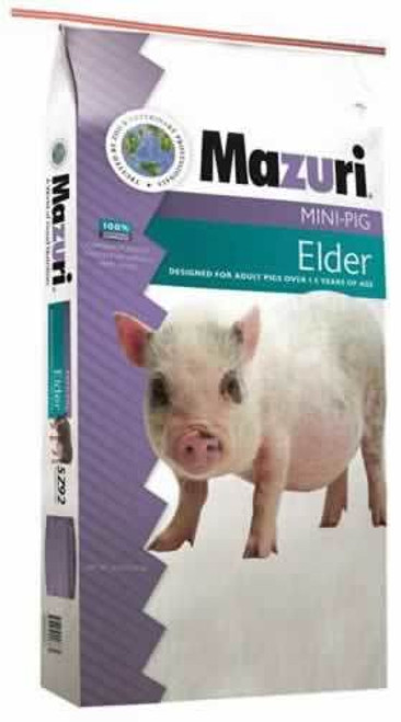 Mazuri Mini Pig Elder Food, 25 Lb.