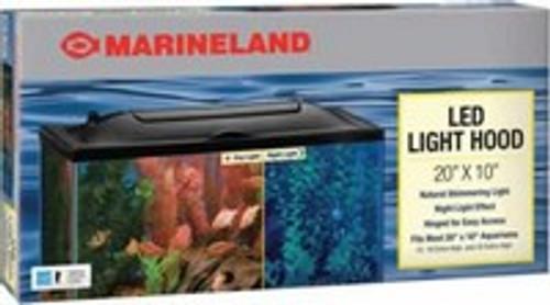 """Marineland LED Aquarium Hood, 20"""" x 10"""