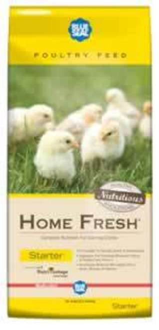 Blue Seal Home Fresh Starter Medicated Crumbles Chick Feed 50 Pounds