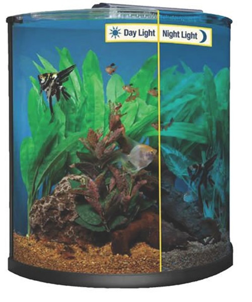 Marineland half moon led aquarium combo kit 30 gallons countrymax marineland half moon led aquarium combo kit 30 gallons mozeypictures Image collections