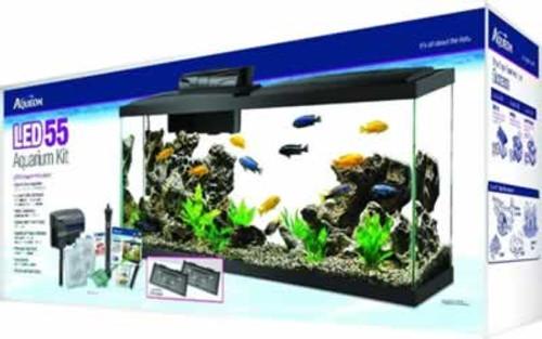 Aqueon LED Aquarium Kit 55 Gallons