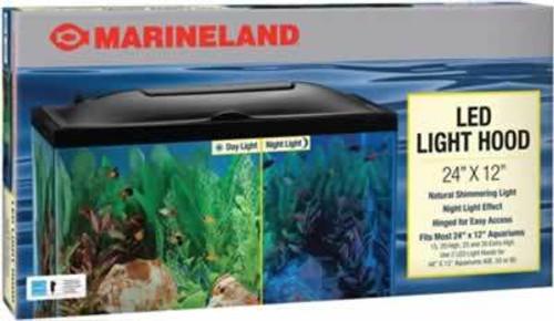 """Marineland LED Aquarium Hood, 24"""" x 12"""