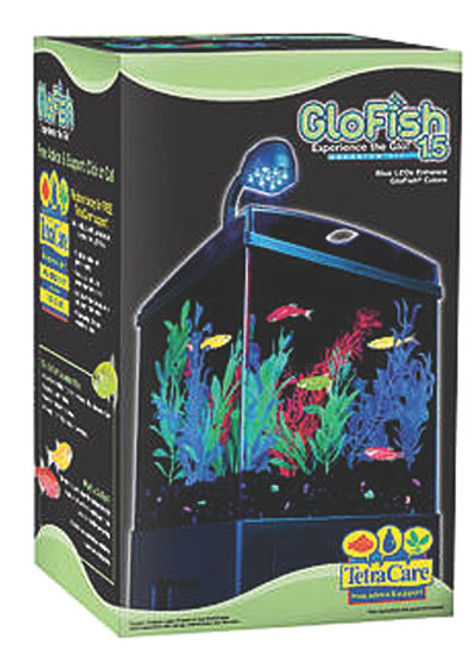 Tetra Glofish Aquarium Kit, 1.5 Gal.