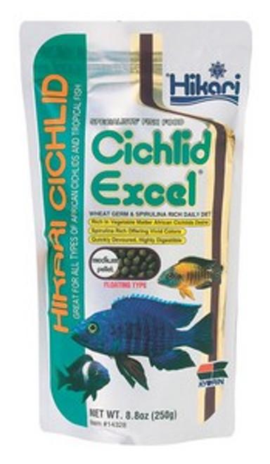 Hikari Cichlid Excel Medium, 8.8 Ounce