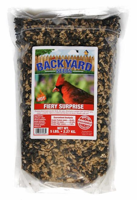 Backyard Series Fiery Surprise Bird Seed Blend