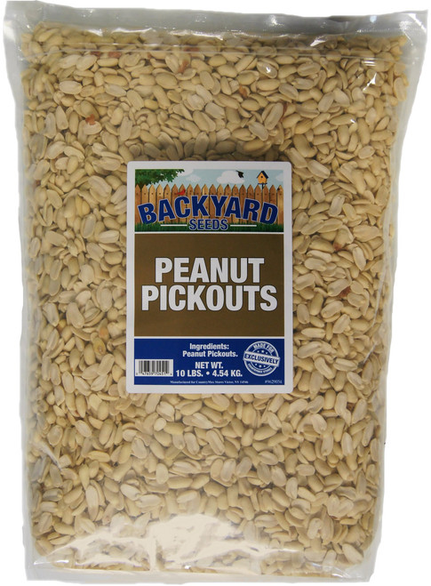 Backyard Seeds Peanut Pickouts 10 Pounds