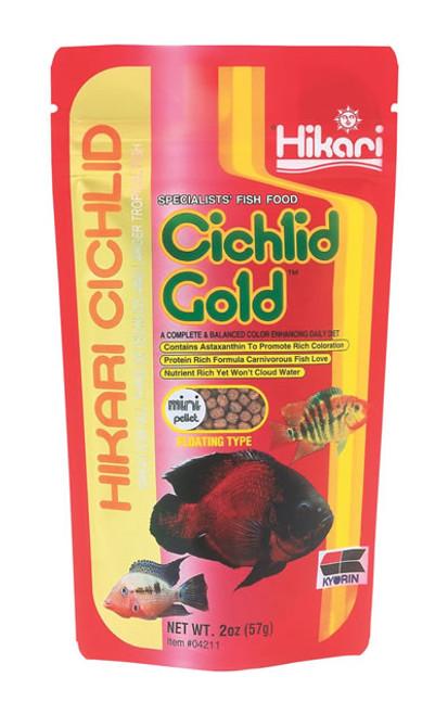 Hikari Cichlid Gold Mini, 2 Ounce