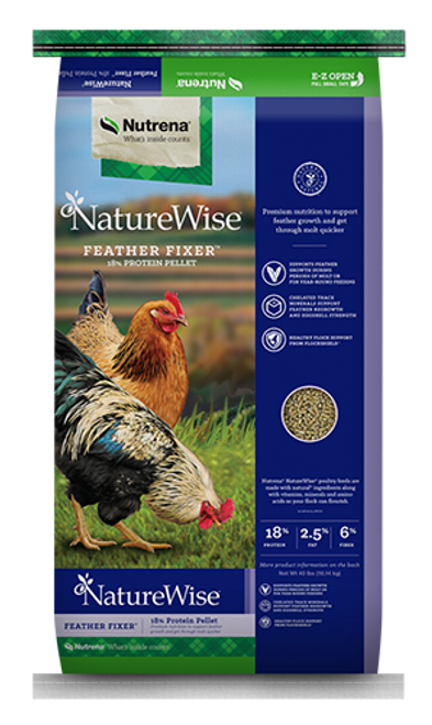 Nutrena NatureWise Feather Fixer 40 Pounds