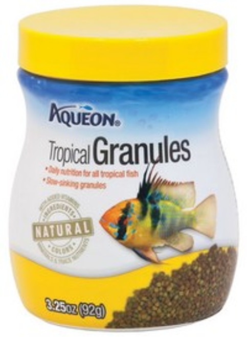 Aqueon Tropical Granules, 3.25 Ounce