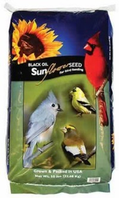 Black Oil Sunflower Seed, 50 Pounds