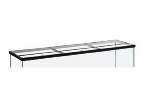 Column Tank Glass Canopy, 36 x 18 Inch