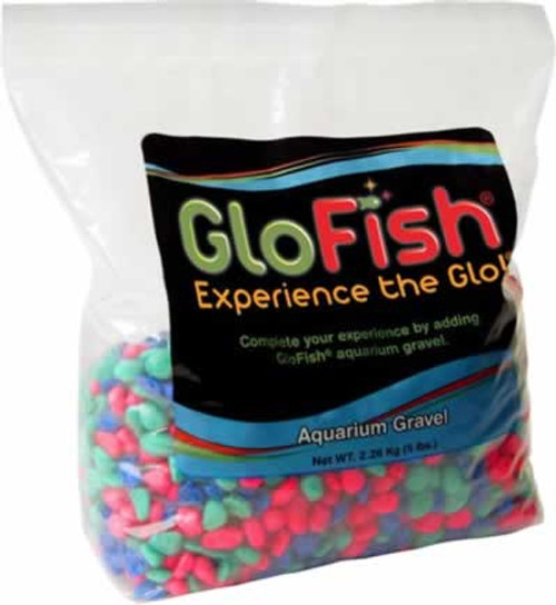 GloFish Fluorescent Aquarium Gravel 5 Pounds