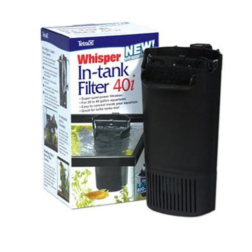 Whisper In Tank Filter, 40I