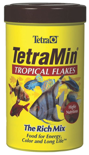 TetraMin Tropical Flakes Fish Food, 1 Ounce