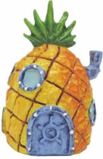 Penn Plax SpongeBob SquarePants Mini Pineapple House Aquarium Ornament