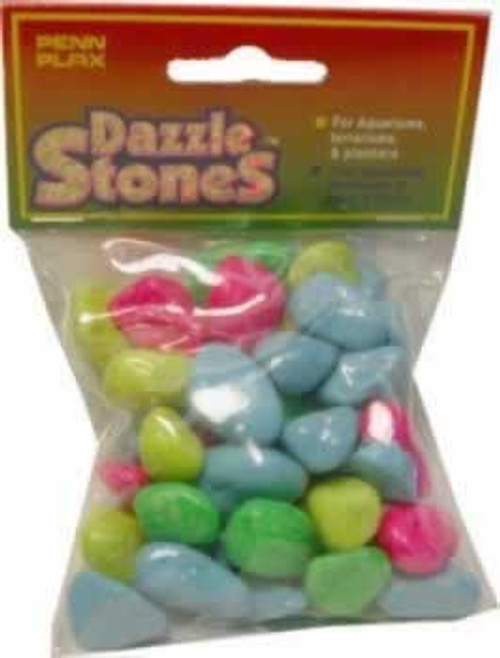 Penn Plax Dazzle Stones Multi Colored Aquarium Stones