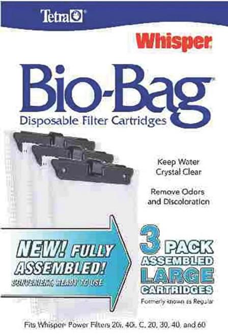 Whisper Assembled Bio-Bag Cartridges Large, 3 Pack