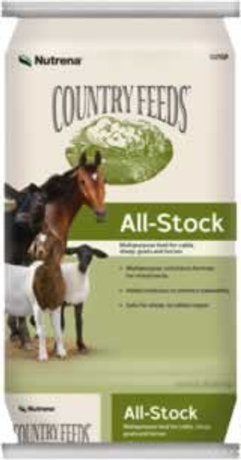 Nutrena Country Feeds All Stock 16% Pelleted Feed