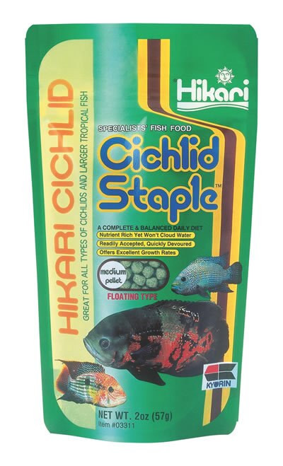 Hikari Cichlid Staple Medium, 2 Ounce