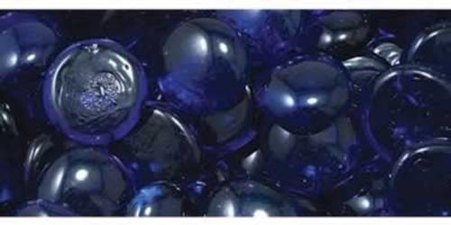 Penn Plax Glass Marbles Blue Gem-Stones 90 Count