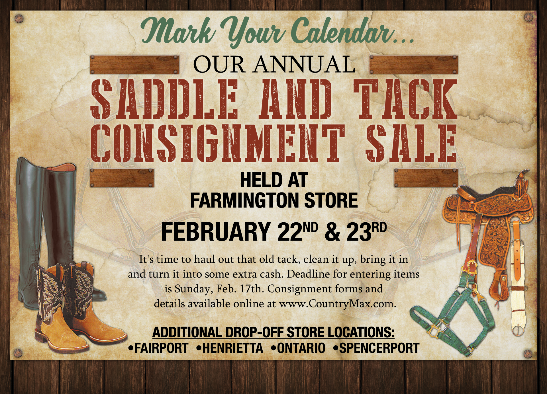 Consignment Sale 2019