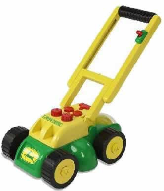 Ertl John Deere Real Sounds Electronic Lawn Mower Childrens Toy