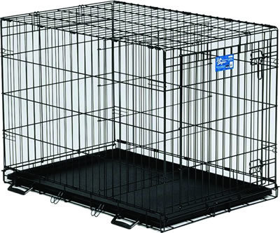 Midwest Life Stages 1636 Single Door Folding Dog Crate 36 X 24 X 27