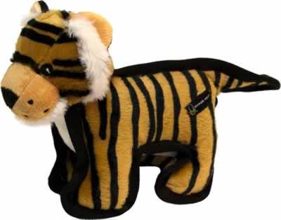 Hyper Pet Tough Plush Tiger Dog Toy - CountryMax