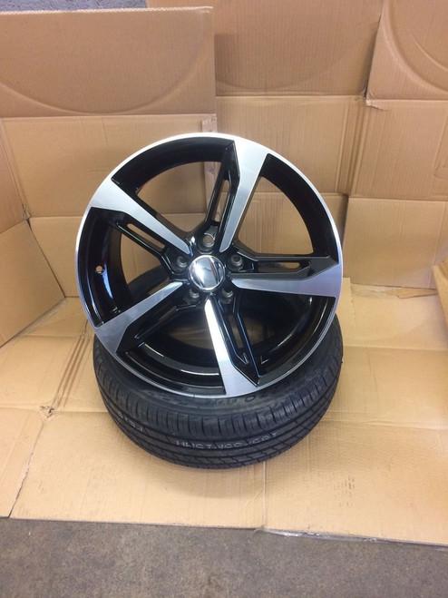 """19""""Alloy Wheels gti a7 bp fits Audi A3/a4/a6/tt mk2 /Vw golf 5/6/passat/skoda/seat"""